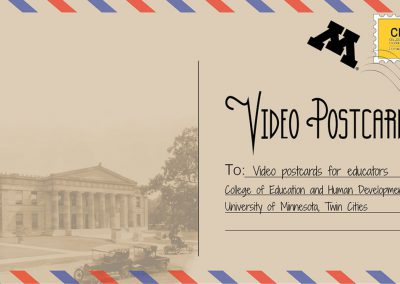 Video Postcards