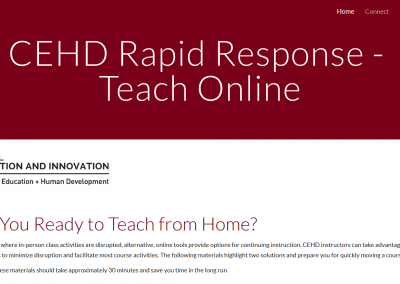 Are you ready to teach from home?
